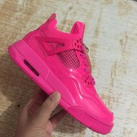 Wholesale New 4 IV all pink low women basketball shoes 4s ou...