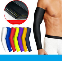 Protezione da pallacanestro sportiva Manica a gomito Protezione della spalla Scaldamuscoli a compressione Ciclismo esterno Manica a gomito Maniche anti-UV