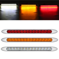 1 Pcs 15 LEDs Taillight Ultra Slim Stop Turning Signal Light...