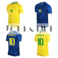 ba21235905 Perfeito 2018 copa do mundo brasil futebol jersey em casa homem mulheres  costume g jesus 9