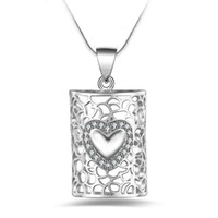 Silver Jewelry Pendant Fine Clavicle chain couple pendant 92...