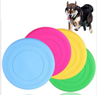La mode Fantastique Pet Dog Flying Disc Tooth Resistant Formation mâche Jouet Jouet Frisbee silicone Frisbee Toys