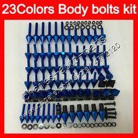 페어링 볼트 Full Screw Kit for Yamaha R6 YZFR6 03 04 05 YZF-R6 YZF600 YZF 600 YZF R6 2003 2004 2005 바디 너트 나사 너트 볼트 키트 25Colors
