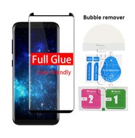 For Samsung Galaxy S8 S9 Plus Note 8 S7 Edge 3D Curved Full ...