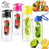 TTLIFE 700ml Cycling Sport Fruit Infusing Infuser Water Juic...