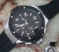 Top quality men Hublot automatic BIG BANG steel golden white...
