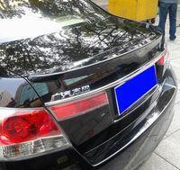 Yüksek kaliteli boya malzemesi ile ABS malzeme araba arka kanat Honda Accord 2008-2013 için Spoiler empennage