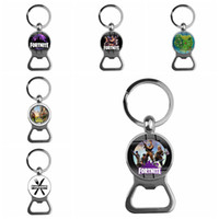 12 Style Fortnite llama Bottle opener Key ring toy gift set ...