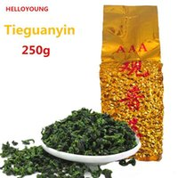 250g Chinese Organic Oolong tea Vacuum packages Anxi TieGuan...