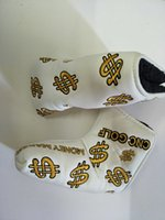 Dollar Embroidery New Golf Putter Protector Golf headcover g...