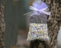 Lila Baumwolle Organza Lavendelbeutel DIY Getrocknete Blumen Süße Bursa Kleiderschrank Mouldproof Dampf Geschenkbeutel