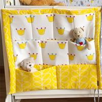 55 * 60 cm Musselin Baum Krippe Bettwäsche Set Windel Veranstalter Krippe Veranstalter Windeltasche Babybett Bett Hängen Aufbewahrungstasche