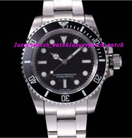 Luxury Wristwatch Water Resistant 114060 40mm Black Dial Sta...