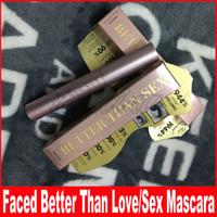 Visage cosmétique Mieux que le sexe Mieux que l'amour Mascara Couleur noire Plus Volume 8ml Masacara Livraison gratuite