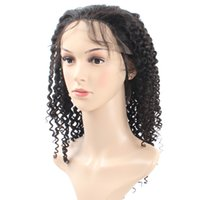 Cheap 8A Popular Big Brazilian Curly Wave Lace Frontal Wigs ...