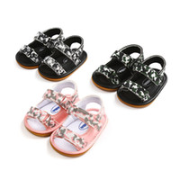 2018 PU Leather Baby Sandals Moccasins First Walkers Summer ...