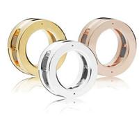 2018 Jesień 925 Sterling Silver Biżuteria Reflections Logo Clip Charm Koraliki Pasuje do bransoletek naszyjnik dla kobiet biżuteria