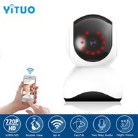Home Security Telecamera IP Wi-Fi Wireless Mini Network Telecamera di sorveglianza Wifi 720P Night Vision CCTV Camera Baby Monitor YITUO