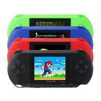 """2.7 """"화면 휴대용 비디오 게임 콘솔 휴대용 게임 플레이어 16 비트 클래식 PXP3 슬림 역 5 색 포켓 게임 패드 콘솔 무료 배송"""
