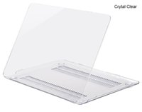 Nueva cubierta de la caja de la PC Crystal Clear para Apple Macbook Air Pro Retina 11.6 12 13.3 15.4 pulgadas Fundas para laptop Touch Bar para Macbook bolsa