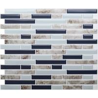 Selbstklebende 3D Wand Fliesen Schälen Und Stick Mosaik Fliesen DIY Küche  Badezimmer Home Decor 10,