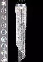 Cristal de acrílico decoraciones de la pieza central de la boda moda de lujo acrílico cristal de la boda camino de plomo H120cm / 20cm de diámetro