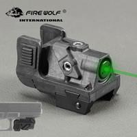 Grüner Punkt-Pistolen-Laser-Anblick 532nm 5mw taktische grüne Laser-Gewehr-Anblick-Bereich für Picatinny Schienengewehr