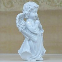 Pray That The Angels Resin Figures of European Garden Orname...