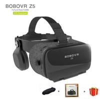 백일몽 Bobovr Z5 Bobo Vr 상자 Gerceklik 가상 현실 안경 3d 헤드셋 Google Cardboard Helmet 고글 Casque 3 D 전화 용