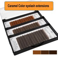 Premium eyelash extension 3color C B J curl eye extension in...