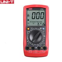 UNI-T UT58A UT58B UT58C UT58D UT58E 디지털 멀티 미터 Ammeter 볼트 미터 커패시턴스 LCD AVO 미터 온도 테스트 멀티 테스터
