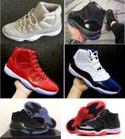 11 Basketball Shoes big boys girls High quality red Black an...