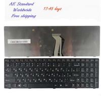 Ru laptop toetsenbord voor Lenovo Y500 Y510P Y500N Y500NT zwart Nieuw Russisch
