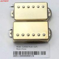 Güney Kore'nin Klasik Artı SG LP elektro gitar humbucker pikap kapalı -CLP Altın