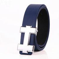 2018 Novo Famoso Da Marca Designer Cintos de Alta Qualidade Dos Homens Cintos de Luxo Genuíno Couro Pin Fivela Casual Cintura Cinto
