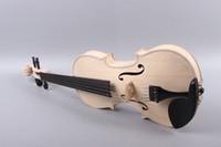 Yinfente 5 строка 4/4 скрипка незаконченные части черного дерева клен елового дерева свободный случай лук