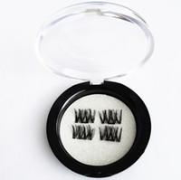 Magnetic Eye Lashes 10 estilos 3D Extensión de pestañas falsas imán Extensiones de pestañas 3d Herramientas de maquillaje Ojos grandes Alta calidad