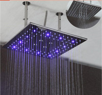 Shower head, 16 Inch dual functions rain and mist shower head...