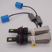 크리 어 LED 헤드 라이트 키트 9005 9006 9007 H1 H4 H7 H11 80W 6000K 로우 빔 안개 벌브 HID 화이트