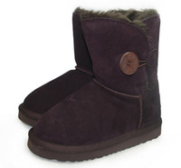 8 Photos Wholesale kids ugg boots - New Brand Children Shoes Girls Boots Winter Warm Ankle Toddler Boys