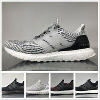 Ultra Boost 3. 0 Running Shoes Real Boost Triple White Black ...