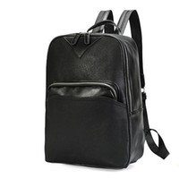 Backpack Korean version casual men' s schoolbag fashion ...