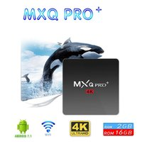 Newest S905W MXQ PRO+ android 7. 1. 2 tv box Quad Core 2G 16GB...