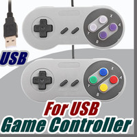 Maniglia nostalgica Controller USB Controller per PC Gamepad Joypad Sostituzione joystick per Super MINI SFC SNES NES Tablet PC Windows E-JYP