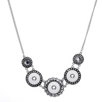 Nouveau NOOSA bouton pression femmes colliers 18MM gingembre s'enclenche Pendentif charmes interchangeables Pour femme DIY Mode bijoux accessoires