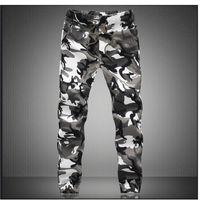 Actif M -5x Hommes Jogger Automne Crayon Sarouel Hommes Camouflage Pantalon Militaire Lâche Confortable Pantalon Cargo Camo Joggers