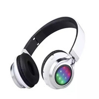 Foldable colorful wireless gaming headphones Portable stereo...
