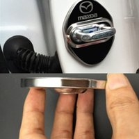 4Pcs Stainless Steel Anti Rust Car Door Lock Protective Cove...