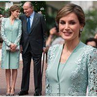 Elegantes vestidos de color verde menta de la madre de la novia Nuevos vestidos de fiesta de encaje de dos piezas Trajes de fiesta con chaqueta Ocasión especial Ropa de noche formal