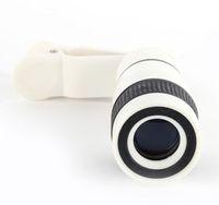Lente de telefoto do telefone móvel de HD (nenhum canto escuro) Lente da câmera do telescópio óptico de 12 x de zoom com clipes para todo o telefone